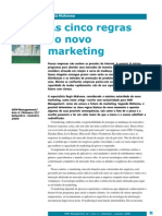 As cinco regras do novo marketing - Regis McKenna