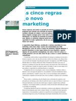 As cinco regras do novo marketing - Regis McKenna