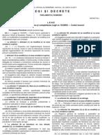 legea 40 din 2011