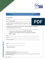 Fiche - Autorisation Parentale Vaccin Covid-19