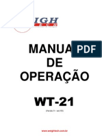 Manual de Operacao WT-21