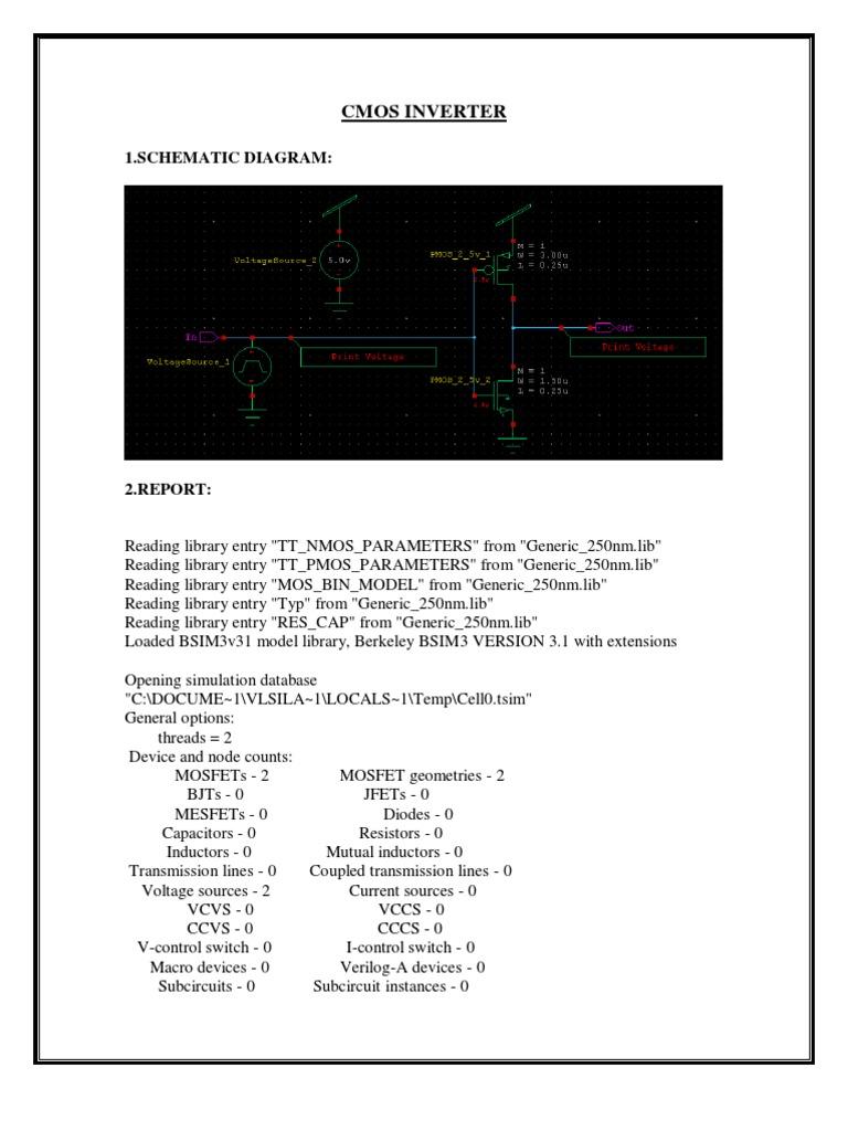 Tanner Lab Record Circuit Diagram Voltage Source