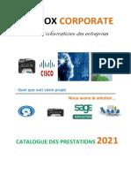 Catalogue Techbox - 2021
