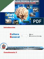 uni cultura general 2021