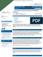 Acondicionamiento de Señales Necesario para Medidas de Temperatura - Develop