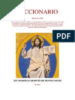 XIV Domingo Después de Pentecostés Leccionario