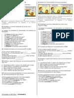 Atividade (Pronomes 7)