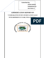 Comparitive Study of Education Loan