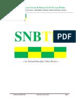 Dossier Technique SNBTP