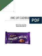 Imc of Cadbury