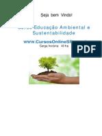 Curso Educa o Ambiental e Sustentabilidade Sp 67280