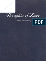 Thoughts of Zero - a path to self discovery