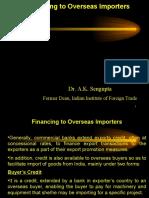 Financing to Overseas Importers