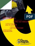 Gauss Mangneti GMP Sollevamento