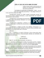 Legislação CFMV 2020