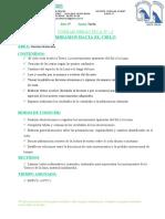 UD N° 1 NATURALES (TIERRA Y UNIVERSO) - 3° 2021