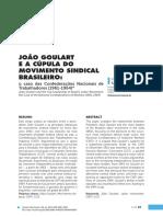 João Goulart e a Cúpula Do Movimento Sindical