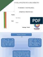 Origen y Definicion de Etiqueta y Protocolo