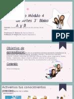 ppt contenido artes 3° Básico Módulo 4