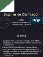 Sistemas de Clasificación atc