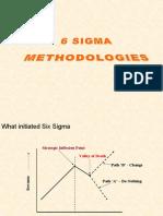 6 Sigma Methodologies