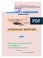 TRACKING AND POSITIONING  OF  MOBILE IN TELECOMMUNICATION