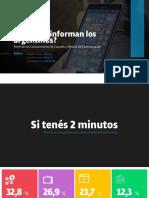 Dossier - Cómo se informan los argentinos  - Taquion- JUL21