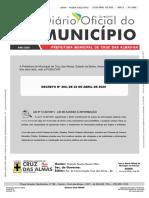 Plano de Conting Cancia Municipal