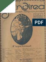 Gândirea, an I, nr.1, 1 mai 1921