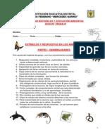 ESTIMULOS Y RESPUESTAS DE LOS ANIMALES    Nº 3