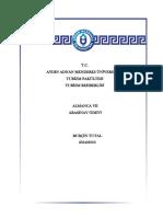ARASINAV ÖDEVİ - Öğrenci Ödev Dosyası