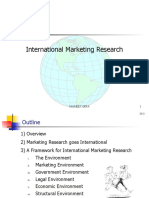 International Marketing Research ,1-IMR-NG