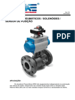Manual Atuador Pneumático, Solenoides e Sensor de Posição (1)