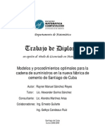 Trabajo de Diploma (Departamento de Matemática Universidad de Oriente, Cuba)
