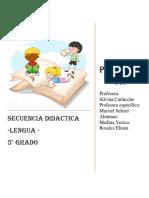 Secuencia LENGUA Esc. 74 5_. Medina - Rosales