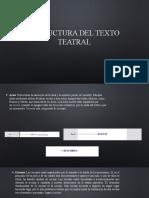 HS3 Estructura Del Texto Teatral. Historia. Personajes
