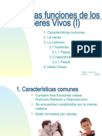Tema 10 - Las Funciones de Los Seres Vivos (I)