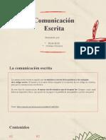 Presentacion Comunicacion escrita