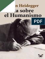 Martin Heidegger - Carta Sobre El Humanismo
