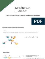 AULA 9 - Mecanica 2 unb