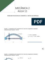 AULA 11 - Mecanica 2 unb