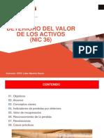 NIC 36 Deterioro Del Valor de Los Activos (Instructor)