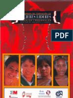 Plegable Mujeres Lideres Locales y Reg