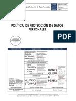Política de Protección de Datos Personales - IBT Group
