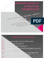 PANEACION DIDACTICA METODO DE PROYECTOS 151010