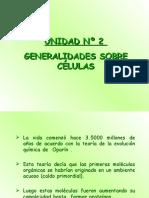 GENERALIDADES DE CÉLULAS