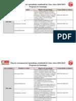 Plan de Assessment de 5 años - Sociologia