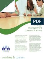 Change management communications