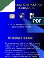 Comunicazione politica e persuasione - Alessandro Amadori