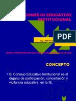 CONSEJO EDUCATIVO INSTITUCIONAL 2011